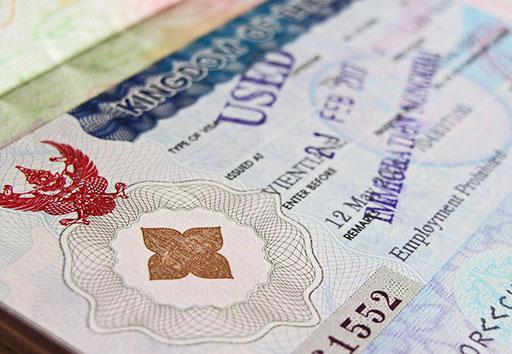 Non-immigrant B visa