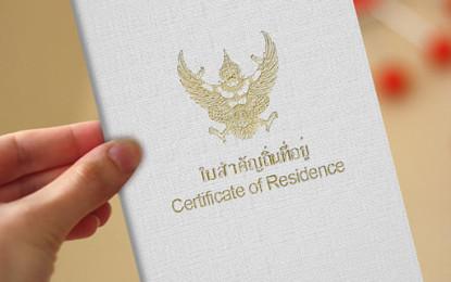 Thai Residence Permit Application