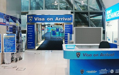 Online Application for Visa on Arrival in Thailand